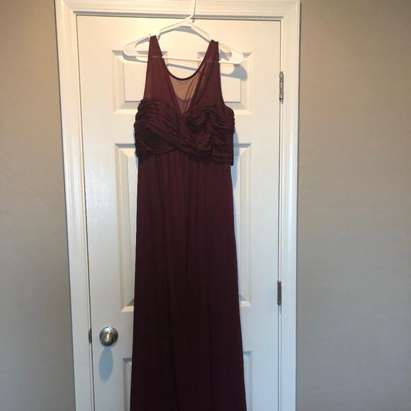 Pinkblush Dresses & Skirts - Pinkblush Merlot Maternity Dress XL